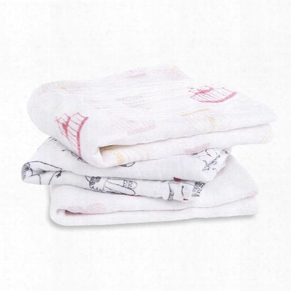 Aden+anais Musy Muslin Cloth 3-piece Pack