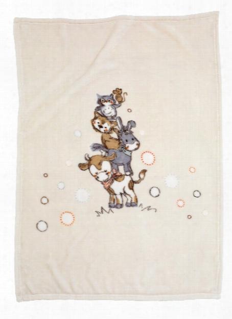 Alvi Microfibre Baby Blanket With Uvp 50+