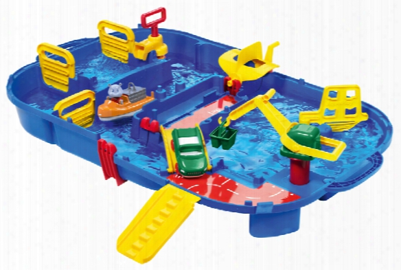 Aquaplay Water Ride Lock Box