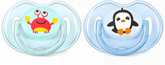Avent Philips Classic Soother Sea 0-6 Months