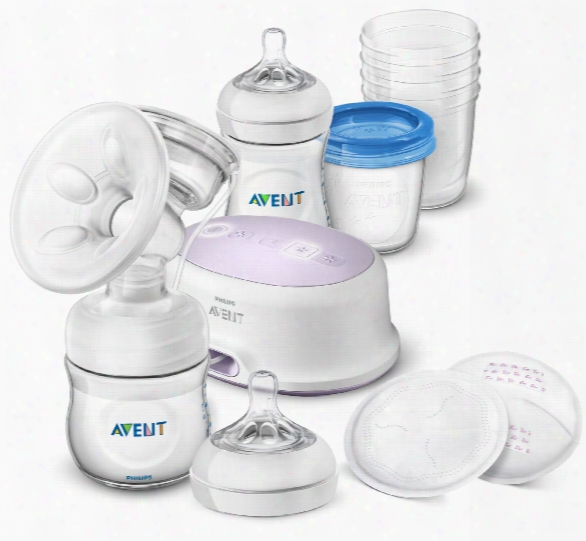 Avent Philips Natural Breastfeeding Set With Electric Breast Pump