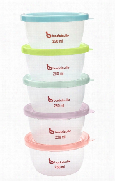Badabulle 5-part Container Kit For Microwave