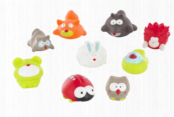 "Badabulle Bathing Animals Â�œforestâ�� Â�"" 6 Pieces"