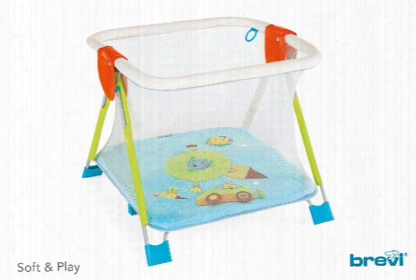 Brevi Playpen Soft & Play Giramondo