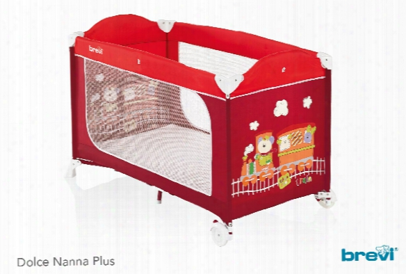 Brevi Travel Cot Dolce Nanna Plus