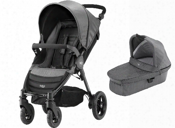 Britax B-motion 4 Incl. Hard Carrycot Denim Collection
