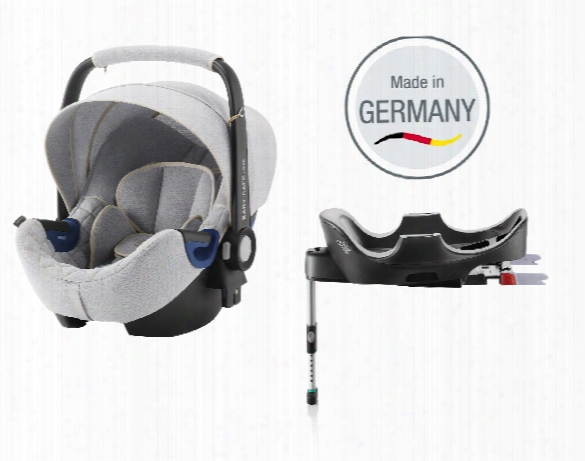 "Britax Rã¶mer Infant Car Seat Baby Safe 2 I-size Including Flex Base Â�"" Special Edition Nordic Grey"