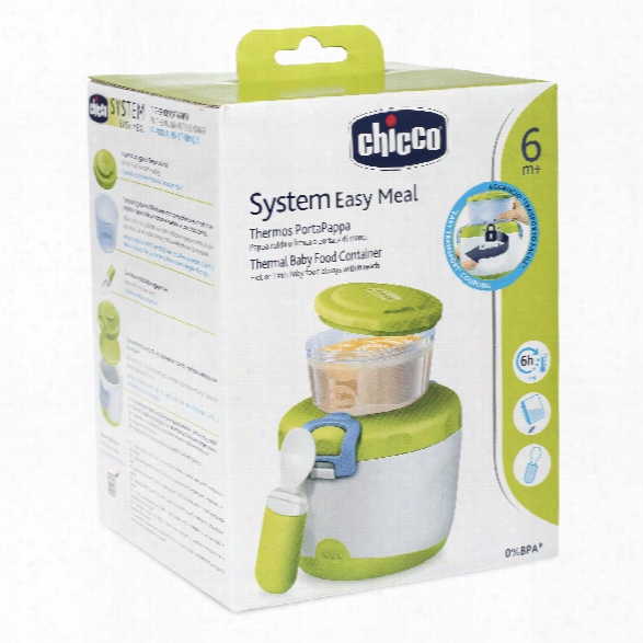 Chicco Easy Meal Insulating Container For Baby Food System 6m+