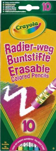 Crayola Erasable Coloured Pencils