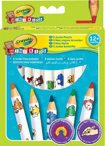 Crayola Jumbo Pencils