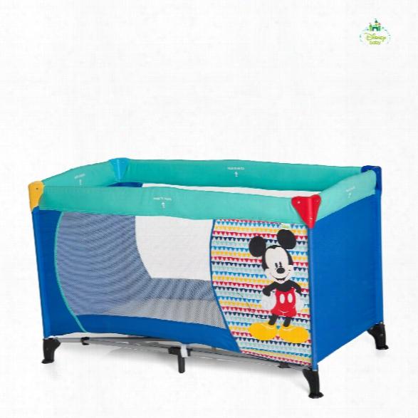 Disney Baby Travel Cot Dream�n Play, Mickey & Minnie