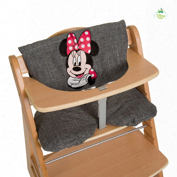 Disney High Chair Seat Pad Deluxe Mickey & Minnie