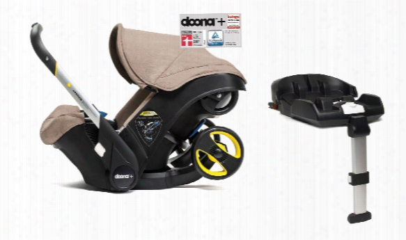 Doona+ Mobile Infant Car Seat Including Isofix Base