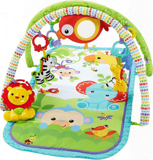 Fisher-price Rainforest Friends 3 In 1 Musical Activity Gym