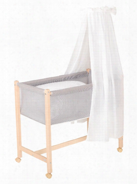 Geuther Bassinet Jasmin, Natural Coloured
