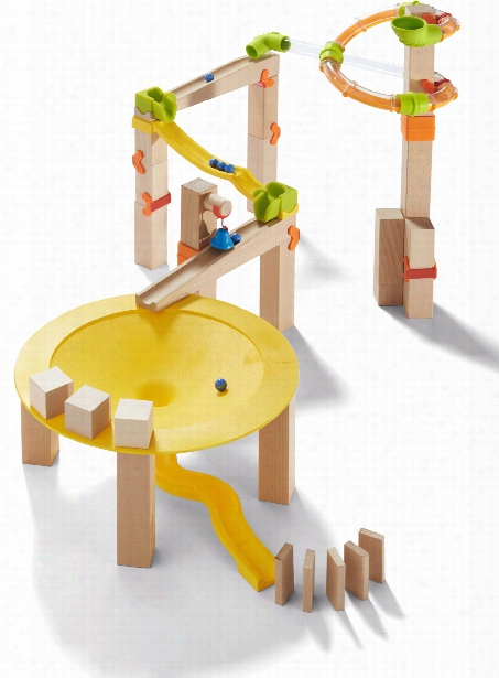 Haba Ball Track Basic Pack Funnel Jungle