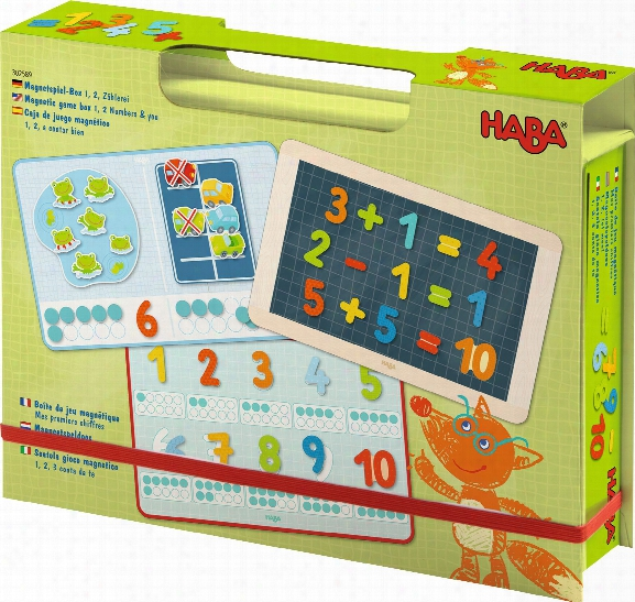 Haba Magnetic Game Box Â�œ1, 2 Numbers & Youâ��
