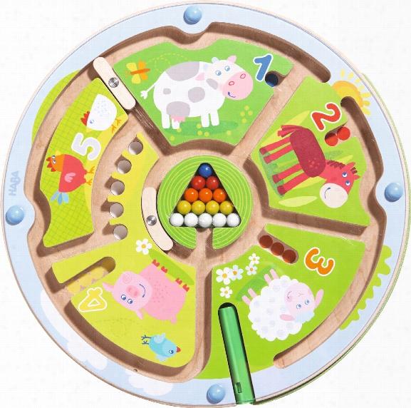 Haba Magnetic Game Â�œnumber Mazeâ��