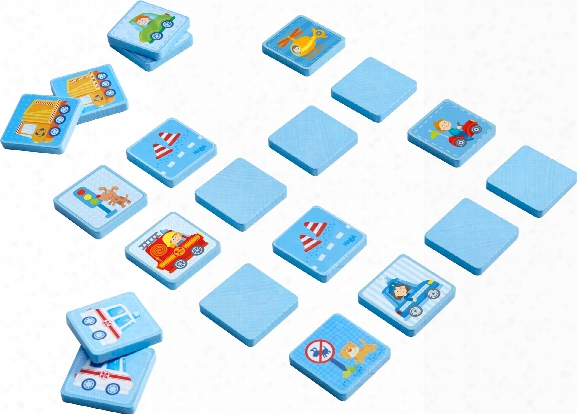 Haba Matching Game World On Wheels