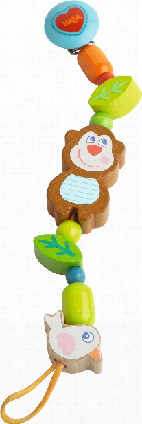 Haba Soother Chain Lino Lemur
