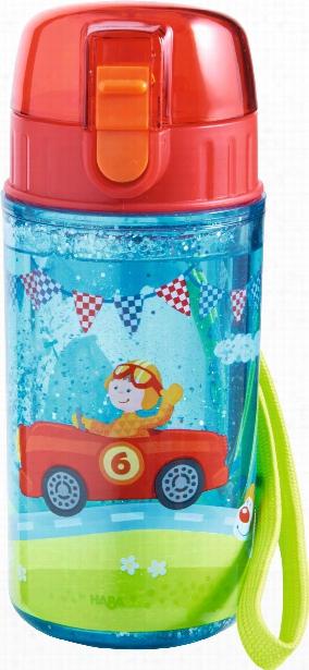 Haba Zippy Cars Glitter Water Bottle