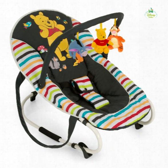 Hauck Baby Bouncer Bungee Deluxe, Winnie The Pooh