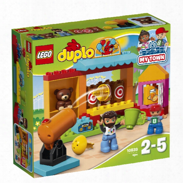 Lego Duplo Bucket Toss Booth