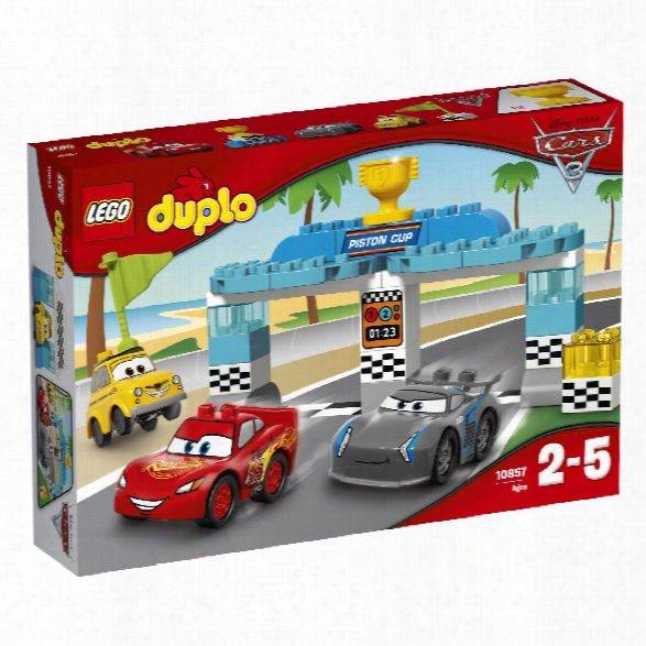 Lego Duplo Piston Cup Race