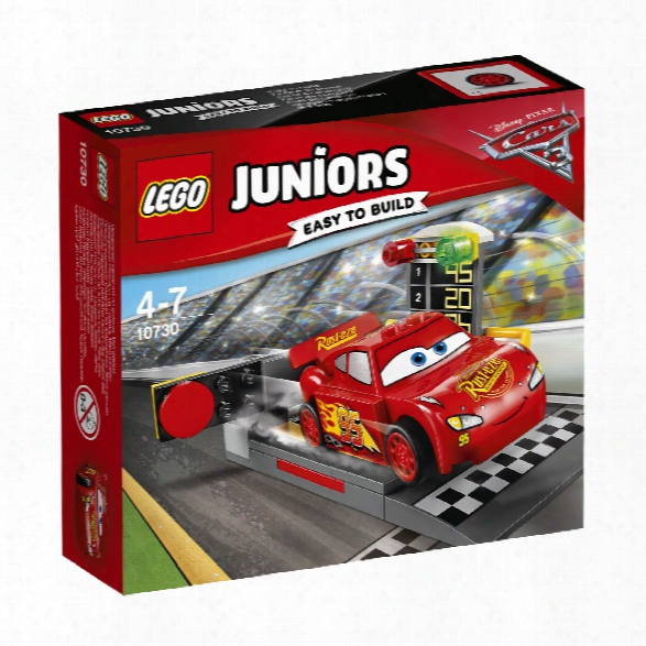 Lego Juniors Lightning Mcqueen�s Acceleration Ramp