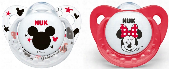 Nuk Soother Disney Mickey Trendline, Silicone