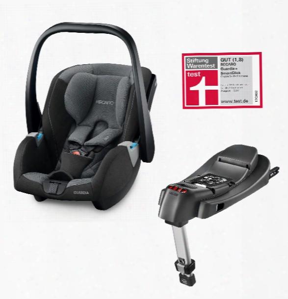 Recaro Infant Car Seat Guardia Including Smartclick Base