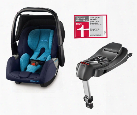 Recaro Infant Car Seat Privia Evo Including Smartclick Base