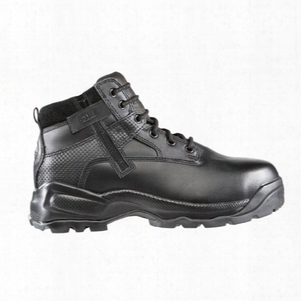 "5.11 Tactical 6"" A.t.a.c. Shield Side-zip Astm Boots, Black, 10.5, Medium - Black - Unisex - Excluded"