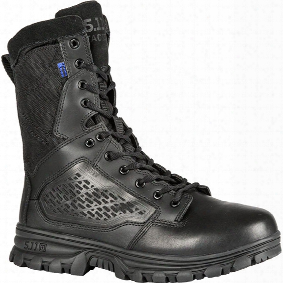 "5.11 Tactical Evo 8"" Insulated Side-zip Boot, Black, 10.5 Regular - Black - Male - Excluded"
