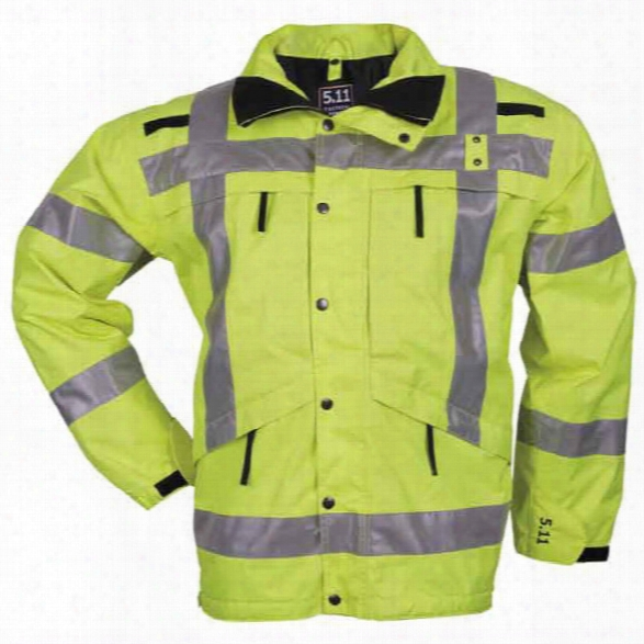 5.11 Tactical High-visibility Parka, High-vis Yellow, Xx-large - Yellow - Male - Excluded