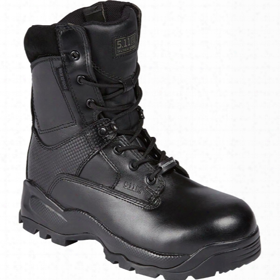 "5.11 Tactical Women's A.t.a.c. 8"" Shield Boot, Black, 10 Regular - Metallic - Female - Excluded"