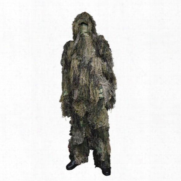 5ive Star Gear Camouflage Ghillie Suit, Woodland, Medium/large - Camouflage - Male - Included
