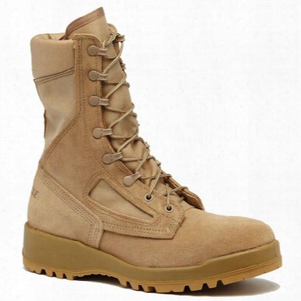 Belleville Hot Weather Steel Toe Boot, Tan, 10.5r - Tan - Male - Included