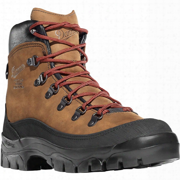 "Danner Crater Rim 6"" Waterproof Hiking Boot, Brown, 10.5d - Brown - Male - Included"