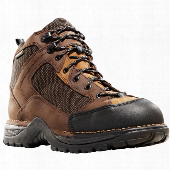 "Danner Radical 452 5.5"" Waterproof Hiking Boot, Dark Brown, 10.5d - Brown - Male - Included"