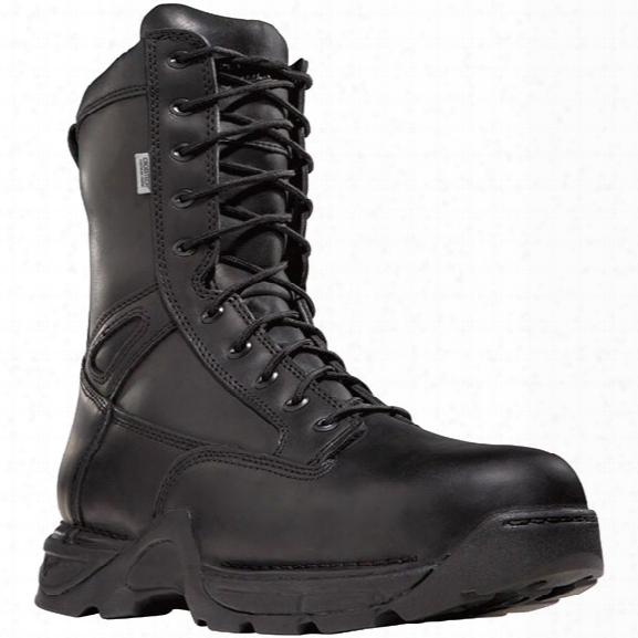 "Danner Striker Ii Ems 8"" Waterproof Sidezip Boot, Black, 11.5w - Metallic - Female - Included"