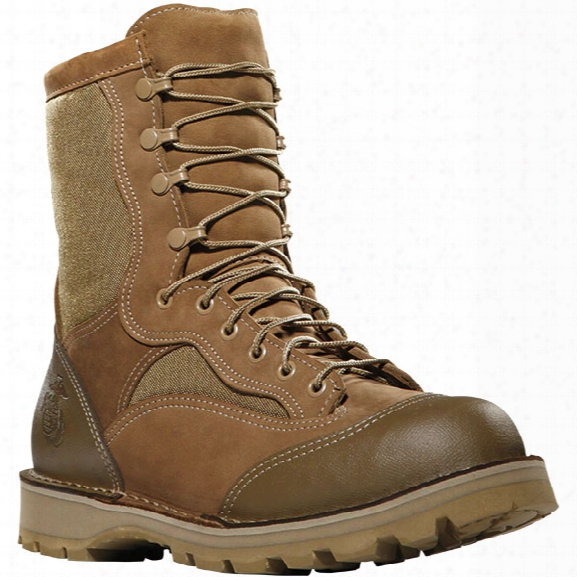 """Danner Usmc Rat Hot 8"""" Moisture-wicking Lining Boot, Mojave, 3.5xw - Brown - Female - Included"""