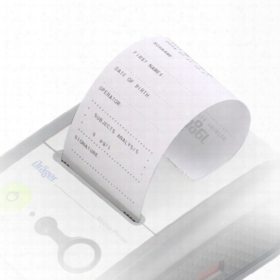 Draeger Safety Diagnostics Mobile Printer Thermal Paper - Male - Included