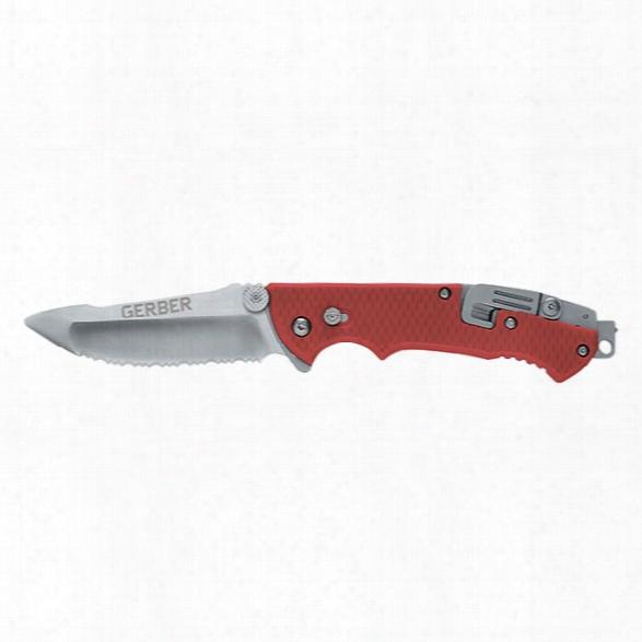 Gerber Hinderer Rescue Folding Knife - Unisex - Included
