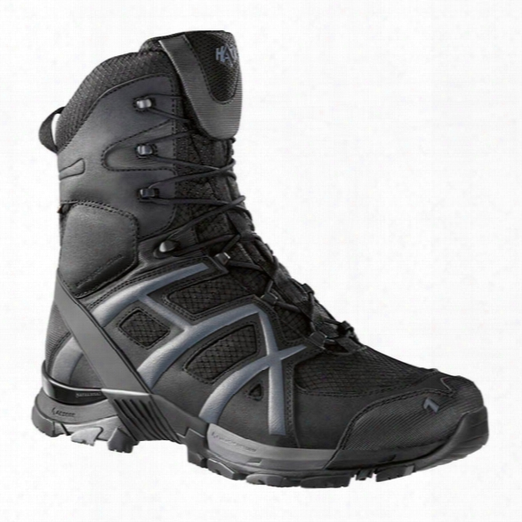 Haix Black Eagle Athletic 10 8.3-inch High Boots, Black, 10 - Black - Male - Included