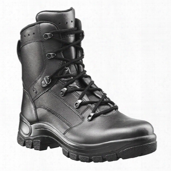 Haix Womens Airpower P7 9-inch Tactical Boots, Black, 10m - Black - Male - Included