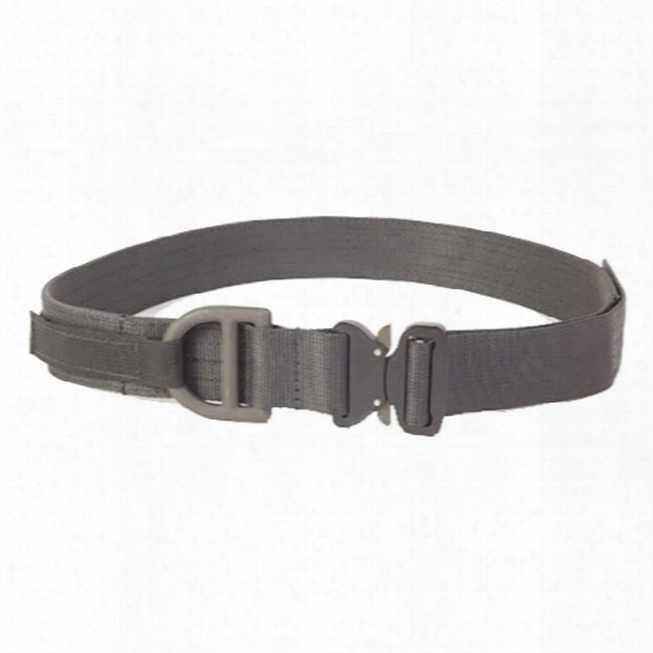 "High Speed Gear Cobra 1.75 Rigger Belt W/hook & Loop And D-ring, Black, Small 28""-30"" - Black - Unisex - Included"