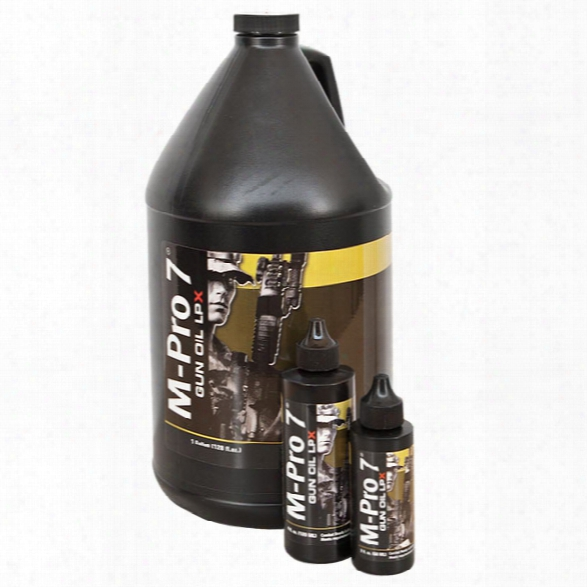 M-pro 7 M-pro7 Lpx Gun Oil, 2oz Bottle - Carbon - Male - Included