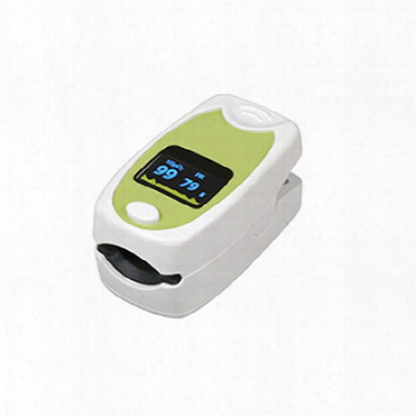 Mabis Healthsmart Fingertip Pulse Oximeter, Deluxe - Male - Included