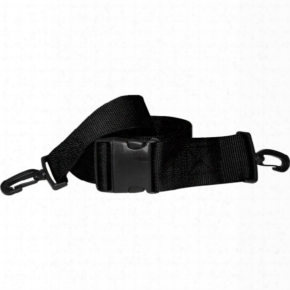 Morrison Medical Polypropylene Webbing, Black, Plastic Side Release Buckle W/plastic Swivel Speed Clip Ends, 2 Pc, 7' - Orange - Male - Included